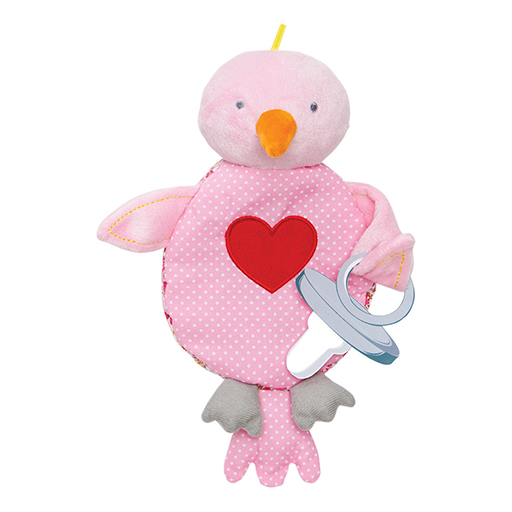 Lovebird Floppy Pacifier Holder