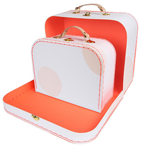 Load image into Gallery viewer, Pink Suitcase Set