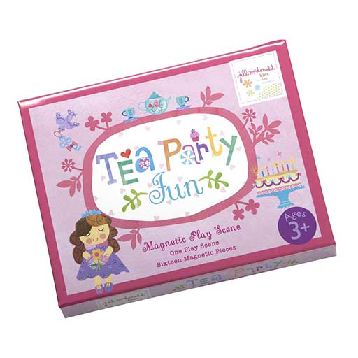 Magnetic Play Scene Tea Party