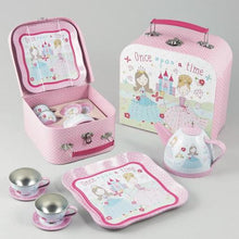 Load image into Gallery viewer, Princess 7pc Tin Tea Set