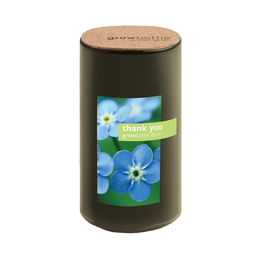 Thank You (Forget-me-nots)Grow Bottle Demi