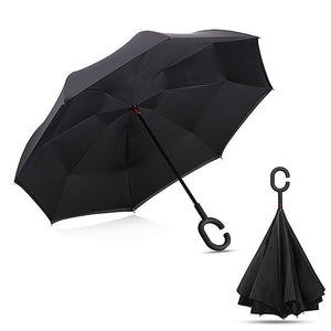 Let It Rain Reverse Umbrella