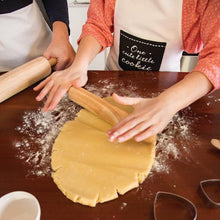 Load image into Gallery viewer, Big Love Rolling Pin & Heart Shaped Cookie Cutter
