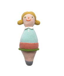 Roly Poly Family Rattle Girl