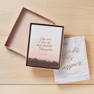 Words To Inspire Boxed Note Cards