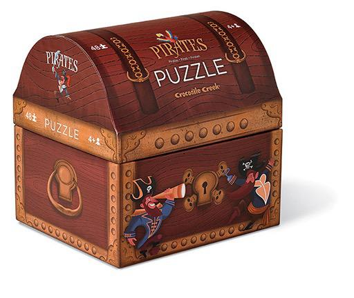 Pirate's Treasure Double Fun Puzzle