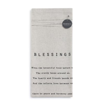 Blessings Tea Towel