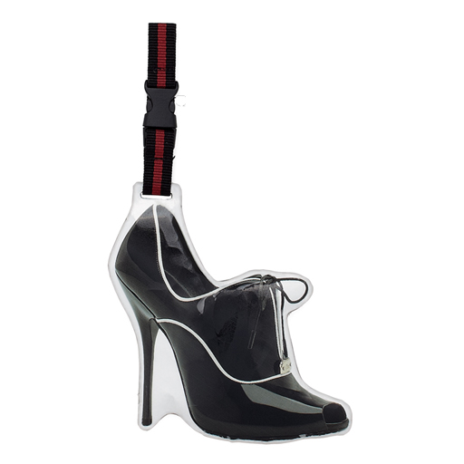 Retro Luggage Tag- High Heel Shoe