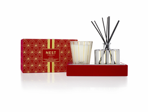 Holiday Classic Candle and Diffuser Gift Set