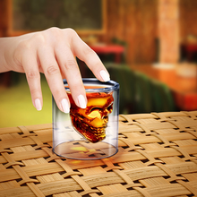 Load image into Gallery viewer, Skull Shot Glass