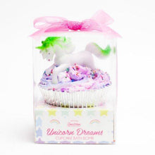 Load image into Gallery viewer, Unicorn Dreams Cupcake Bath Bomb