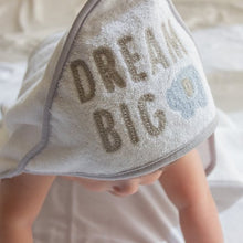 Load image into Gallery viewer, Dream Big Embroidered Hooded Towel
