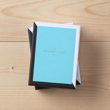 Motto Boxed Note Cards