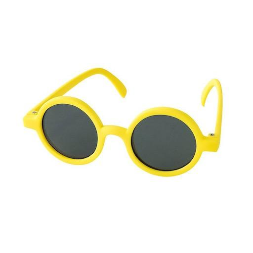 Kids Sunglasses Round Yellow