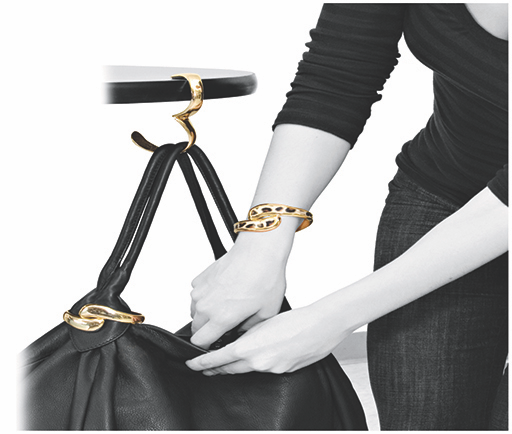 Bangle Hanger-Classic Pursehook Radiant Gold