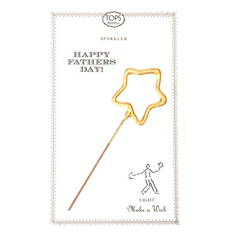 Sparkler Card - Father's Day