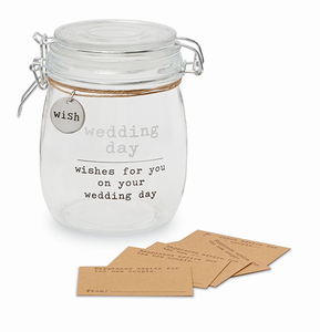 Wedding Wish Jar Set