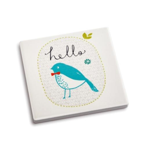 Hello Coaster and Greeting Card