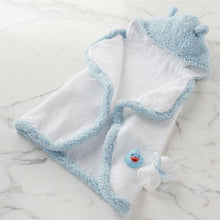 Load image into Gallery viewer, Blue Baby Bath Time Gift Set