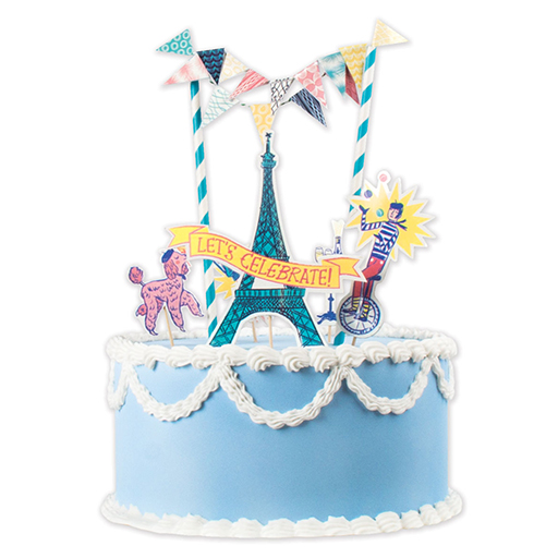 Let's Celebrate Cake Decorating Kit