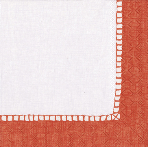 Cocktail Napkins-Linen Coral