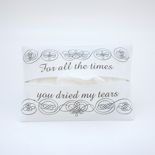 Tissue Holder-For All The Times