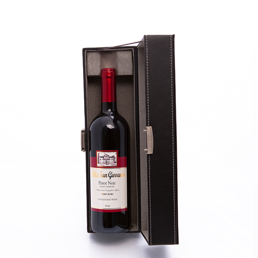 Vint Faux Leather Closing Wine Box