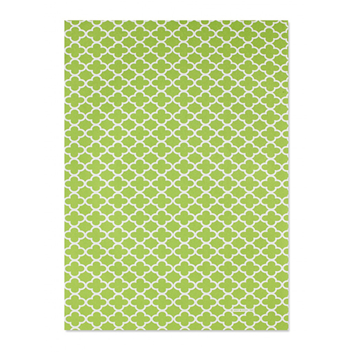 Green Clover Leaf Gift Wrap Sheet