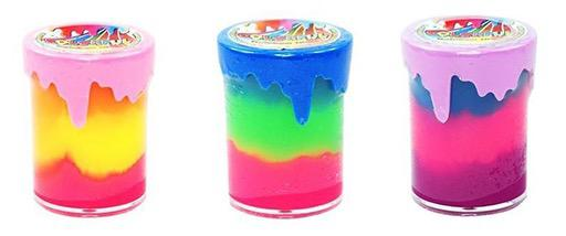 Colorful Rainbow Slime