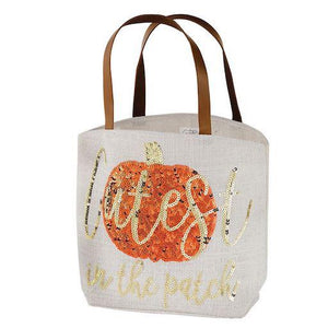 Cutest In The Patch Halloween Dazzle Tote Bag