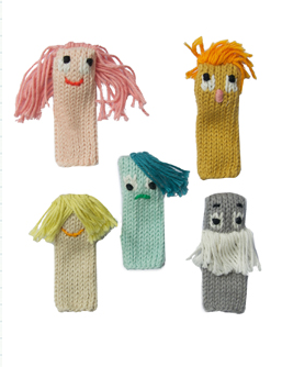 Expressionists Finger Puppet Set