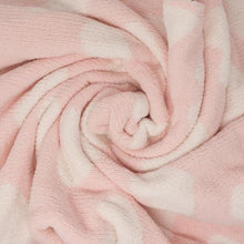 Load image into Gallery viewer, Pink Heart Chenille Blanket
