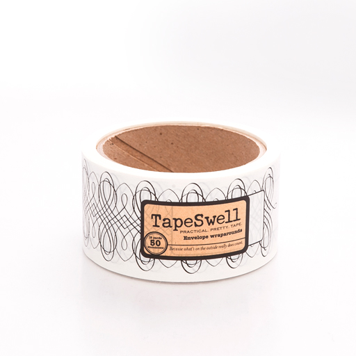 Lyra White envelope wrap tape