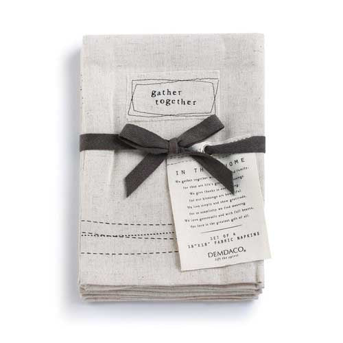 Gather Together Napkins Set of 4