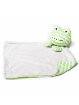 Hope Frog Lullaby Poetic Plush Blanket