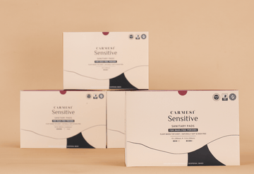 Carmesi Sensitive - 120 Pads