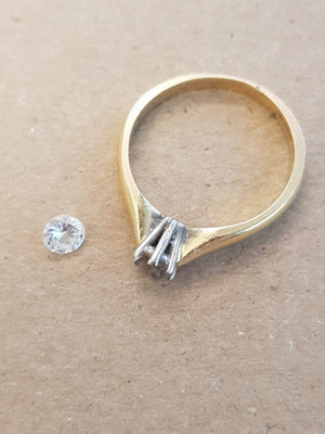 Engagement ring makeover