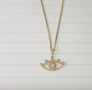 Evil Eye - Keep Us Safe From Harm Necklace