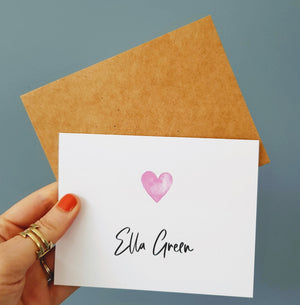 Ella Green Jewellery Stationary