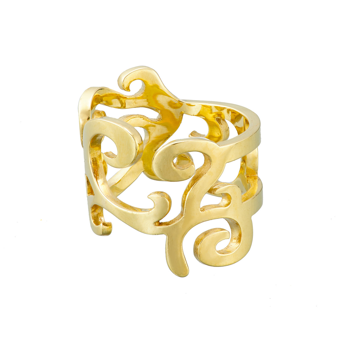 ella green jewellery irish designer yellow gold dream ring