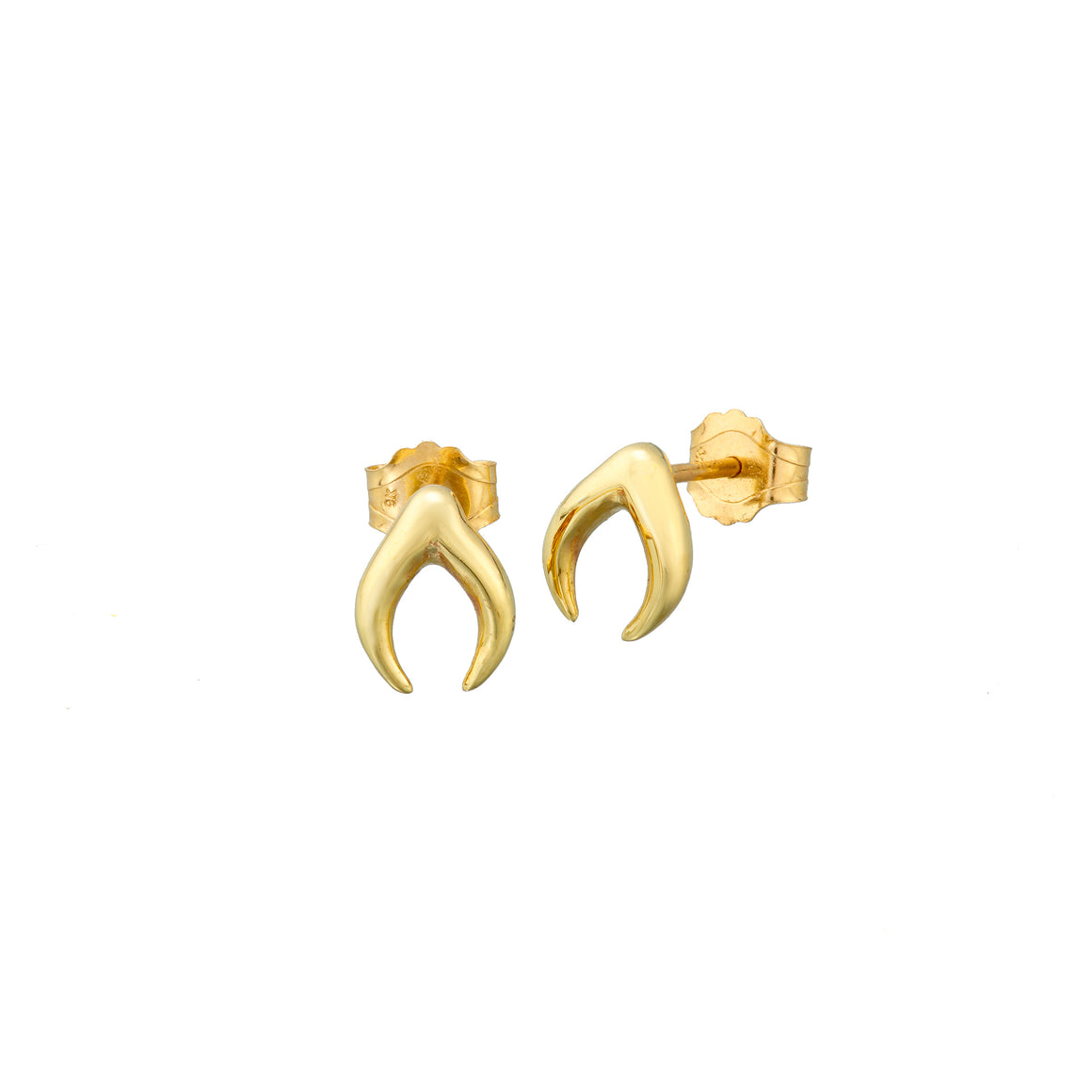 ella green jewellery irish designer yellow gold dream stud earrings insect jewelry