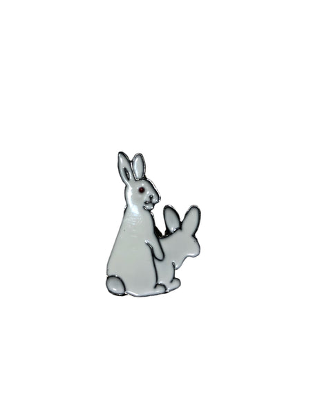Bad Bunny Enamel Pin