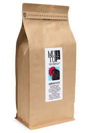 2.2 pound (or 1 kilogram) bag of Breakfast Blend by Mutu Coffee