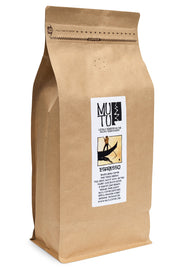 2.2 pound (or 1 kilogram) bag of Espresso Blend by Mutu Coffee