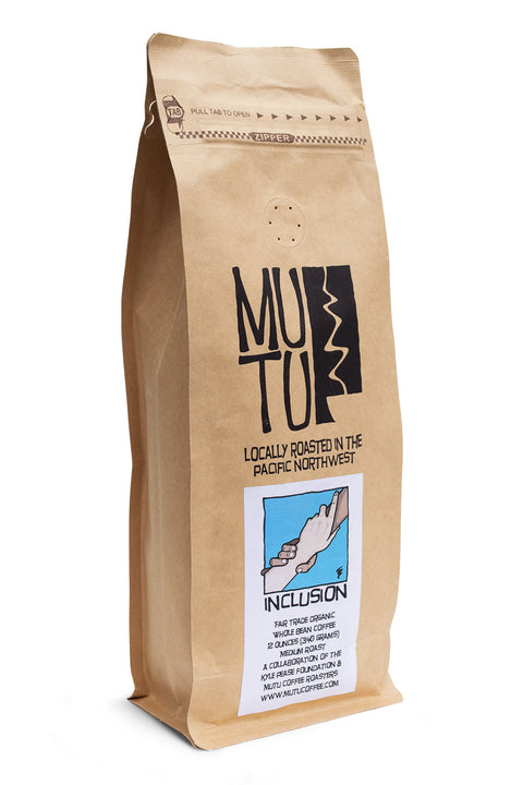 12 ounce bag of Inclusion by Mutu Coffee