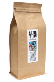 2.2 pound (or 1 kilogram) bag of Trailhead Blend by Mutu Coffee
