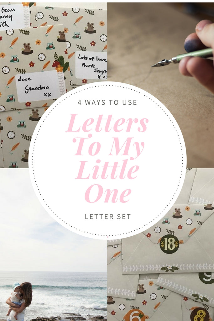 4 Ways to Use Your Forever Letters (Letters To My Little One) Set