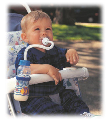 baby bottle with straw
