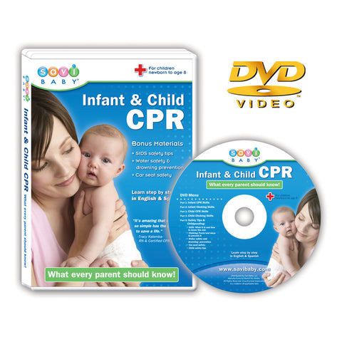 Infant & Child CPR DVD