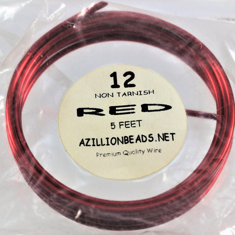 12 gauge Red wire